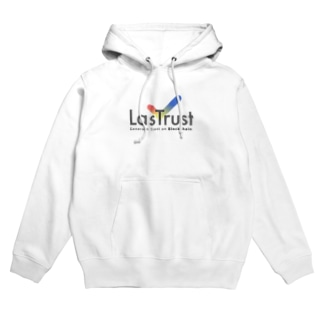 LasTrust Black Logo Hoodies