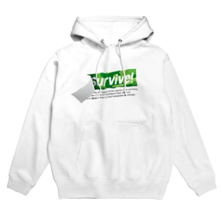 survive! 2nd Hoodies