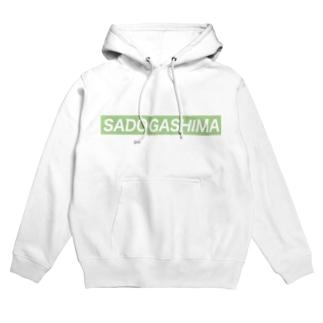佐渡ヶ島sadogashimaライン Hoodies