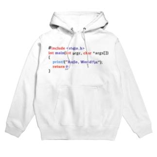 C言語 Hello World Hoodies