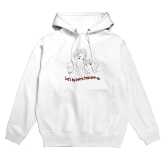 Let's be lovers from now on Hoodies