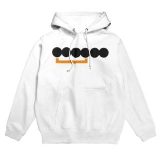 抽象化されたロゴ(Web通販サービス) Hoodies