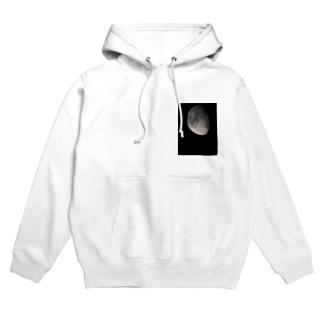 月*宇宙 Hoodies