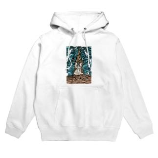 モーセの海開き 服が白いよ Hoodies