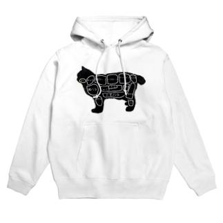 焼肉屋の猫 Hoodies