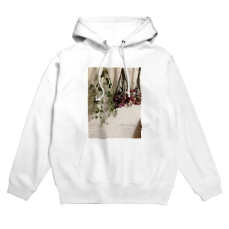 dry flower Hoodies