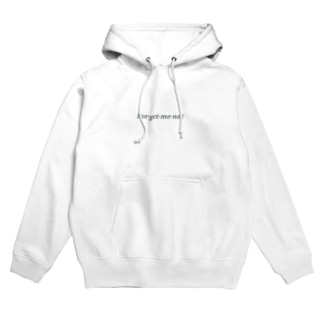 Forget-me-not(blue) Hoodies