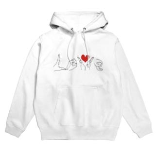 LOVE♡ Hoodies