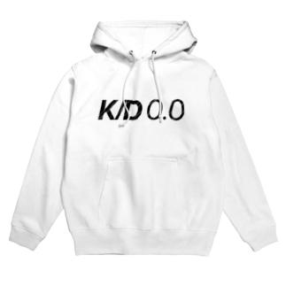 K/D0.0 [文字色黒] Hoodies