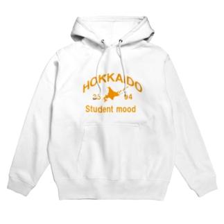 北海道旅行時に着るやつ Hoodies