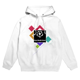performer EGAOグッズ Hoodies