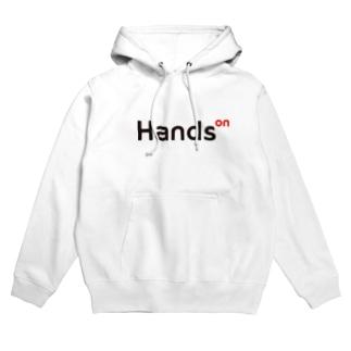 HandsOn Goods(ホワイト) Hoodies