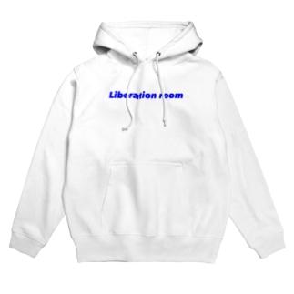 Liberation room logo Hoodies