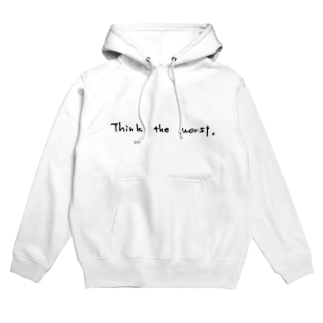 Think The Worst. Hoodies