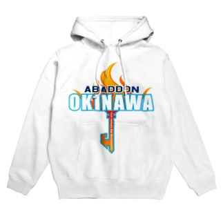 ABADDON OKINAWA BLUE KEY Hoodies
