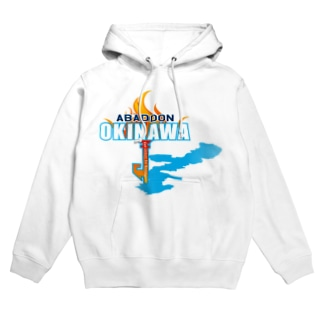 ABADDON OKINAWA BLUE FIGHT Hoodies