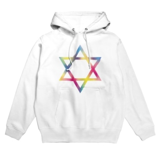▼ hexagram Hoodies