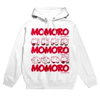 MOMOROS(WHITE) Hoodies