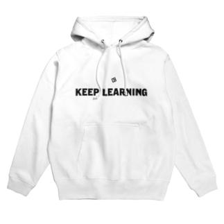 KEEP LEARNING 2 Hoodies