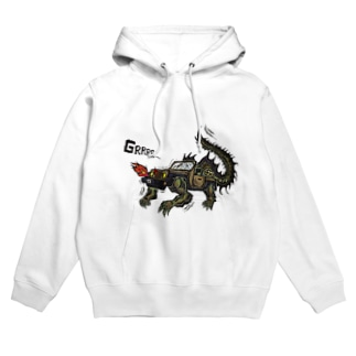 4WD-DRAGON Hoodies