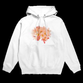 月と森のCherry blossom  Hoodies