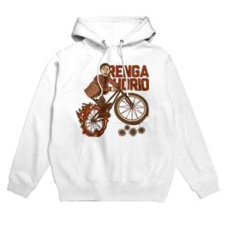 火の自転車操業 Hoodies