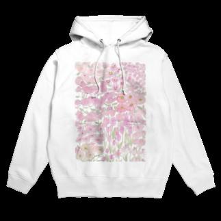 ℂ𝕙𝕚𝕟𝕒𝕥𝕤𝕦 ℍ𝕚𝕘𝕒𝕤𝕙𝕚 東ちなつのgarden dream /pink Hoodies