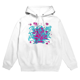 Shindo Of The Dayのタギング風ロゴ アナザーカラー Hoodies