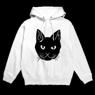 渡邊野乃香のお店の黒猫ジジ Hoodies