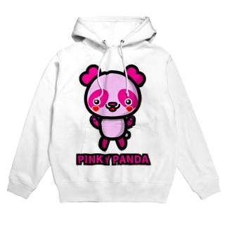 PINKY PANDA Hoodies