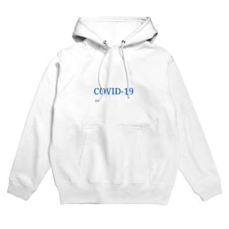 COVID-19(コビッド・ナインティーン) Hoodies