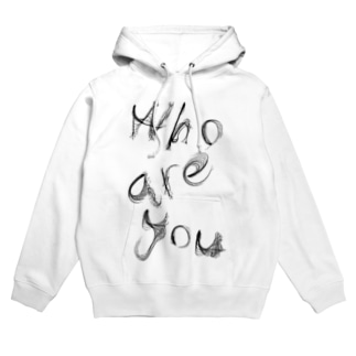「Who are you」 Hoodies