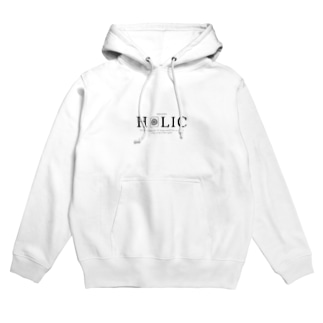 HOLIC_ホワイト Hoodies