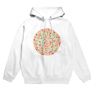 YES, Color blindness test Hoodies