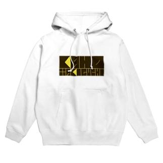 滝口果歩オリジナルロゴグッズ kaho yellow Hoodies