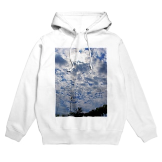 空と雲 DATA_P_124 sky cloud Hoodies