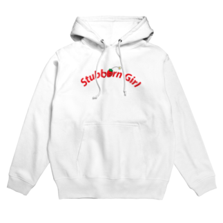 Don't Punch BearのStubborn Girl Hoodies
