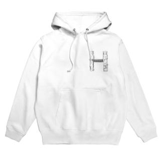 madorizu room-H 【間取り図】 Hoodies