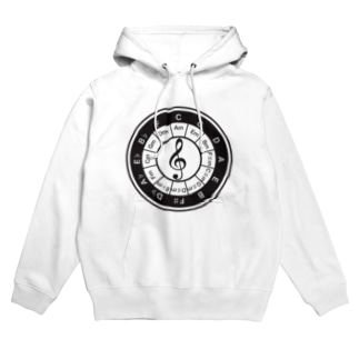 Circle_of_5th Hoodies