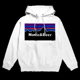 Time Survive DesignのMusic & Beer (PG) Hoodies