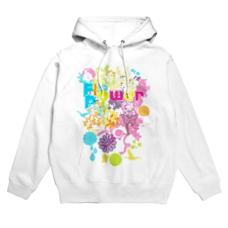 Flower_Power Hoodies