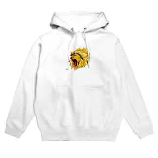 切り絵ariのLION Hoodies