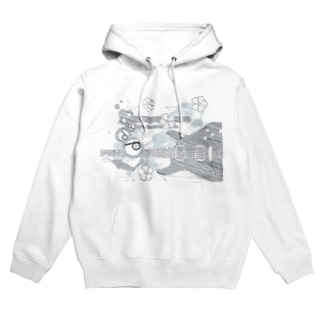 GUITAR-POP TUNES Hoodies
