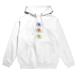 お花_Flower Hoodies