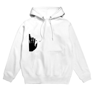 My Hands B&W Hoodies