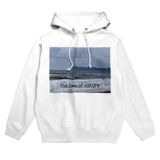 the law of nature Hoodies