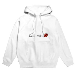 Call me💋 Hoodies
