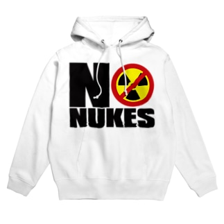 NO_NUKES Hoodies