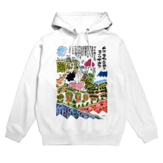 丹沢・塔ノ岳と尊仏岩のコイワザクラ Hoodies