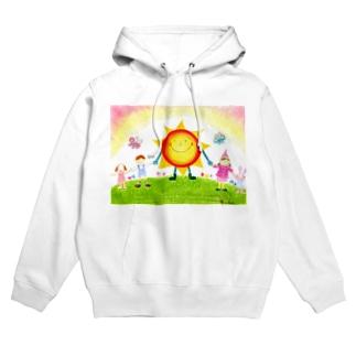 太陽の子Sunny Hoodies